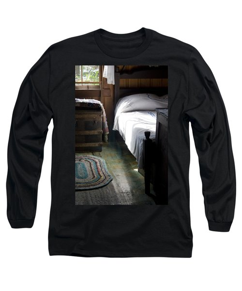 Long Sleeve T-Shirt featuring the photograph Dudley Farmhouse Interior No. 1 by Lynn Palmer