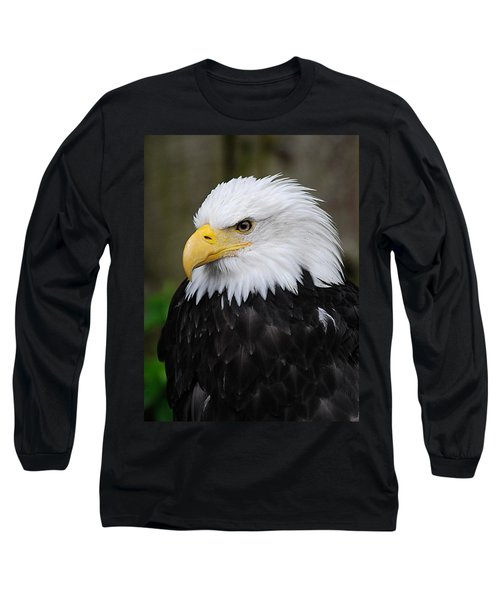Eagle In Ketchikan Alaska 1371 Long Sleeve T-Shirt