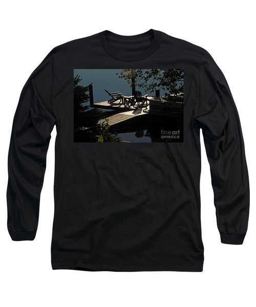 Early Morning At The Lake Long Sleeve T-Shirt by Cindy Manero