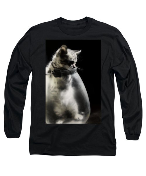 Long Sleeve T-Shirt featuring the photograph El Kitty by Jessica Shelton