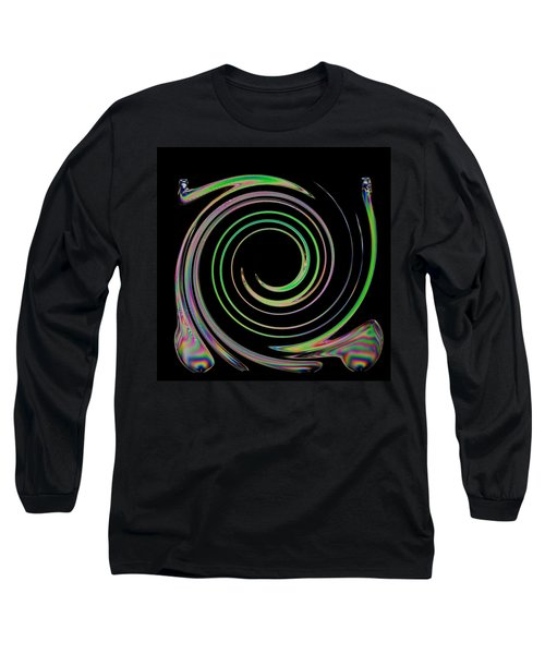 Long Sleeve T-Shirt featuring the photograph Electric Cutlery by Steve Purnell