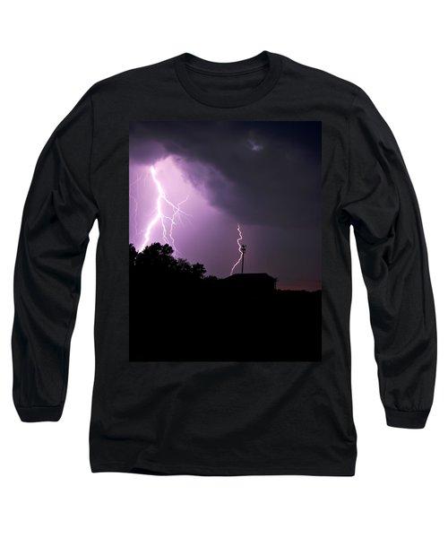 Electrifying Sky  Long Sleeve T-Shirt