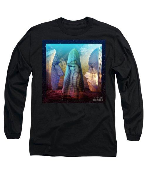 Embrace Tower Long Sleeve T-Shirt