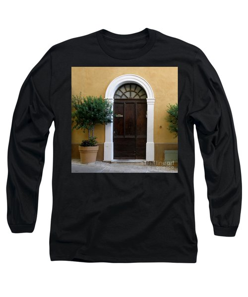 Long Sleeve T-Shirt featuring the photograph Enchanting Door by Lainie Wrightson