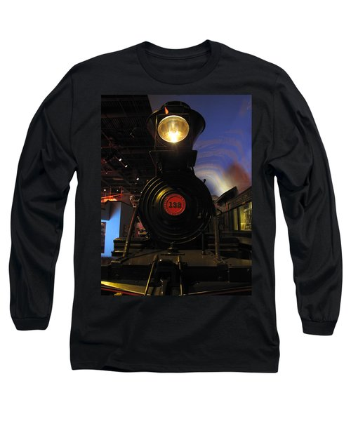 Engine No. 132 Long Sleeve T-Shirt by Keith Stokes