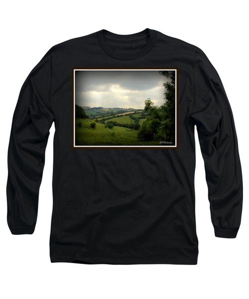 English Countryside Long Sleeve T-Shirt