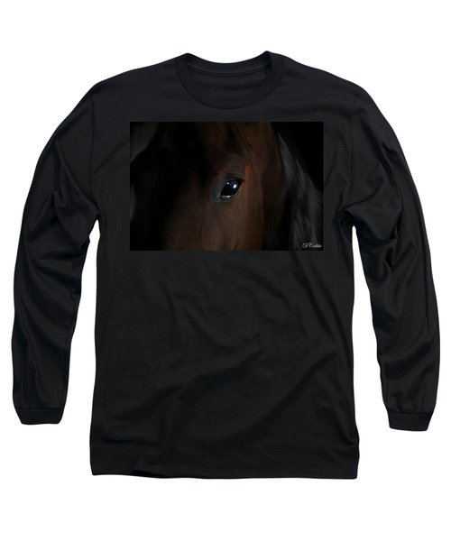 Long Sleeve T-Shirt featuring the photograph Eye Of The Beholder by Davandra Cribbie