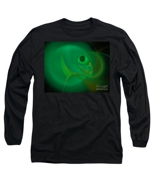 Long Sleeve T-Shirt featuring the digital art Eye Of The Fish by Victoria Harrington