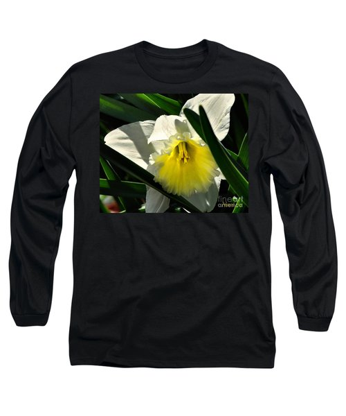 Long Sleeve T-Shirt featuring the photograph Face The Sun by Nava Thompson