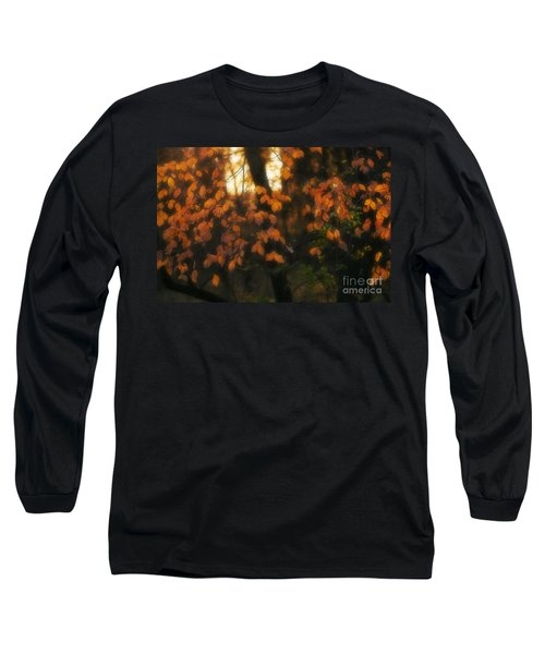 Long Sleeve T-Shirt featuring the photograph Fall Colours by Art Whitton