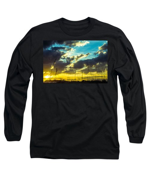 Long Sleeve T-Shirt featuring the photograph Fernandina Beach by Shannon Harrington