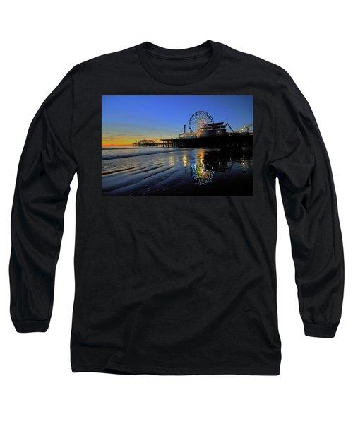 Ferris Wheel Sunset Long Sleeve T-Shirt