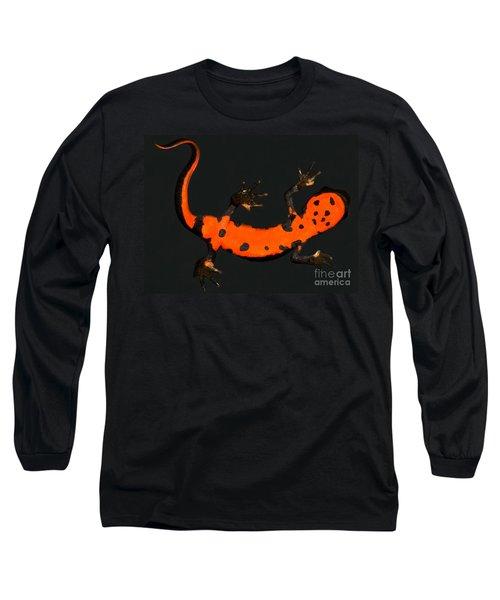 Fire Belly Newt Long Sleeve T-Shirt