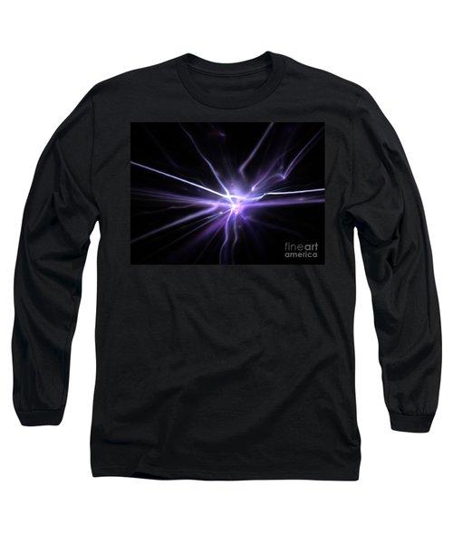 Long Sleeve T-Shirt featuring the digital art Firefly by Kim Sy Ok