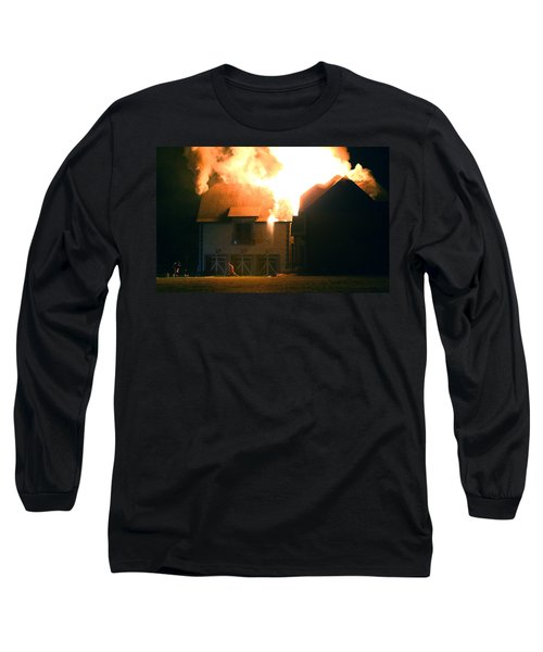 First Responders Long Sleeve T-Shirt by Daniel Reed