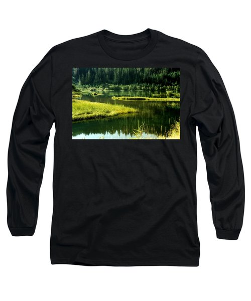 Fishing The Still Water Long Sleeve T-Shirt
