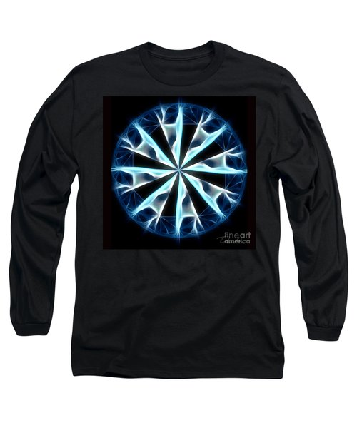 Flame In Tears Long Sleeve T-Shirt