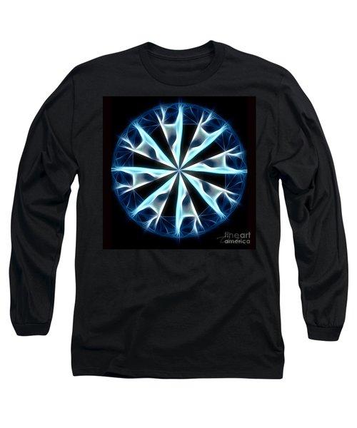 Flame In Tears Long Sleeve T-Shirt by Danuta Bennett