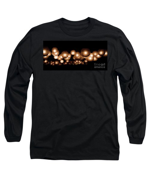 Floating Orbs Long Sleeve T-Shirt