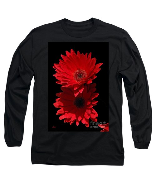 Flowers From My Son Long Sleeve T-Shirt by Cindy Manero