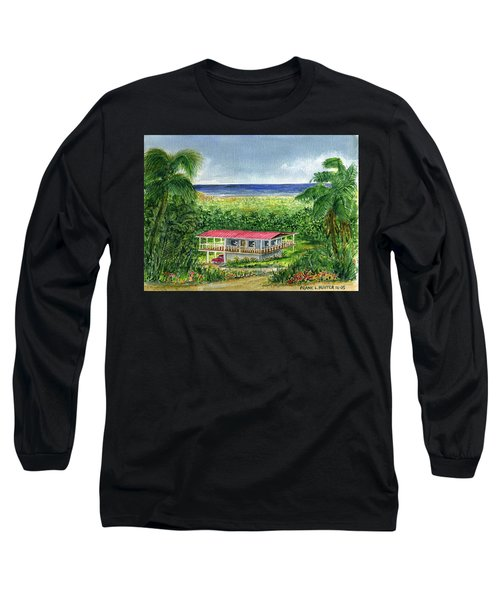 Foothills Of El Yunque Puerto Rico Long Sleeve T-Shirt