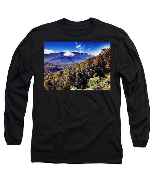 Long Sleeve T-Shirt featuring the photograph Foothills Parkway Tennessee by Janice Spivey