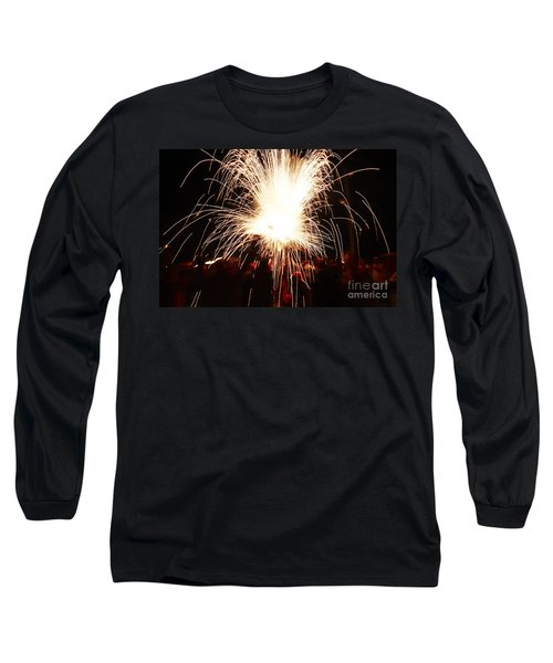 Fountain Of Sparks Long Sleeve T-Shirt