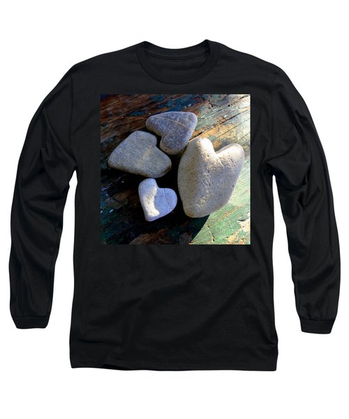 Four Stone Hearts Long Sleeve T-Shirt