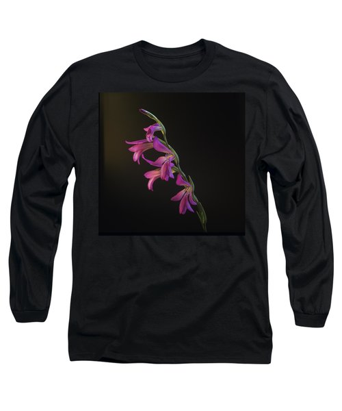 Freesia In The Spotlight Long Sleeve T-Shirt by Susan Rovira