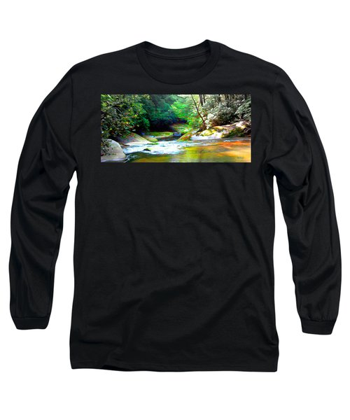 French Broad River Filtered Long Sleeve T-Shirt