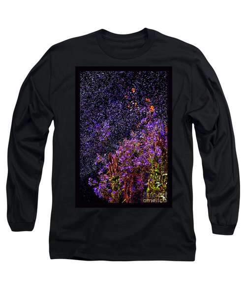 Long Sleeve T-Shirt featuring the photograph Galactic Gardens by Susanne Still