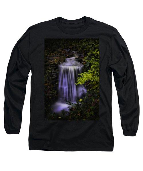 Garden Falls Long Sleeve T-Shirt by Lynne Jenkins