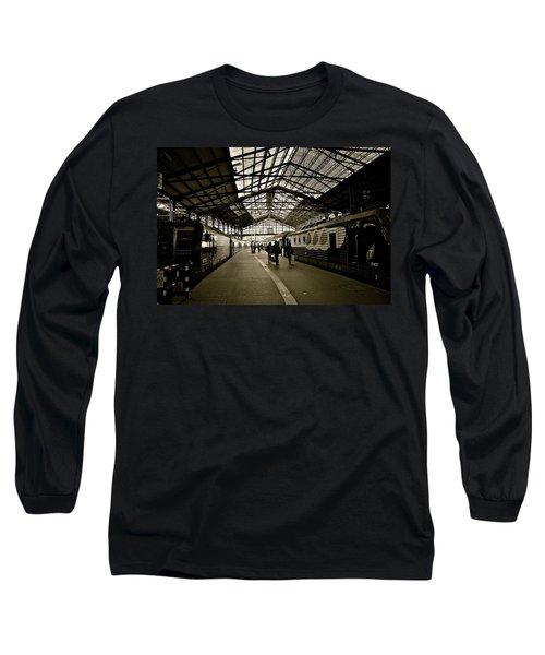 Long Sleeve T-Shirt featuring the photograph Gare De Saint Lazare by Eric Tressler