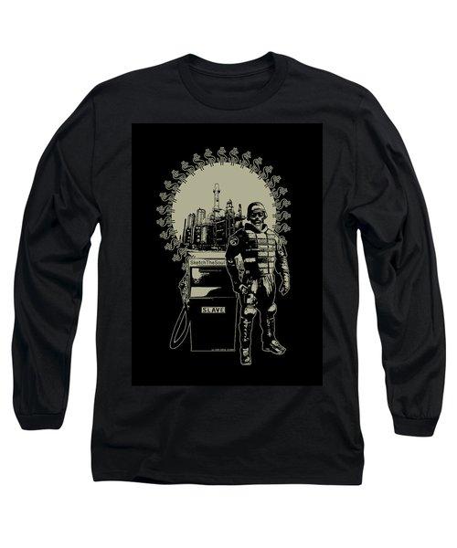 Gas Riot  Long Sleeve T-Shirt by Tony Koehl