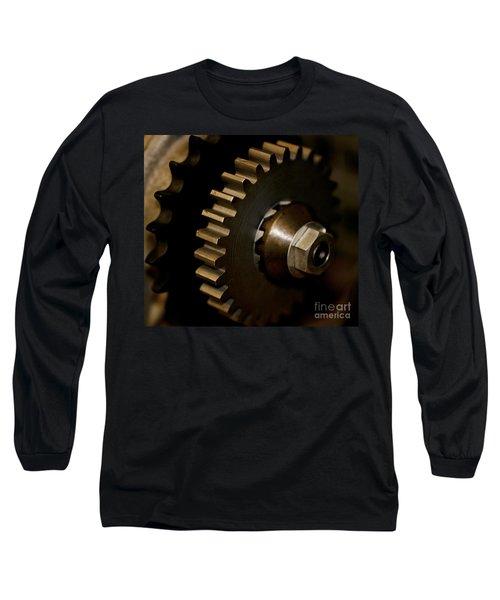 Gears  Long Sleeve T-Shirt by Wilma  Birdwell