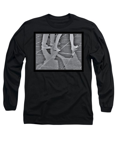 Long Sleeve T-Shirt featuring the digital art Ghost Walkers by Victoria Harrington