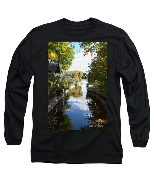 Long Sleeve T-Shirt featuring the photograph Glenora Point by William Norton