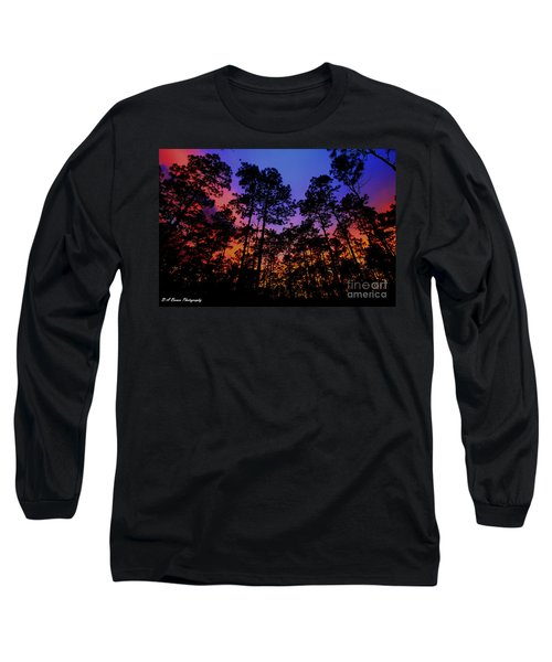 Glowing Forest Long Sleeve T-Shirt