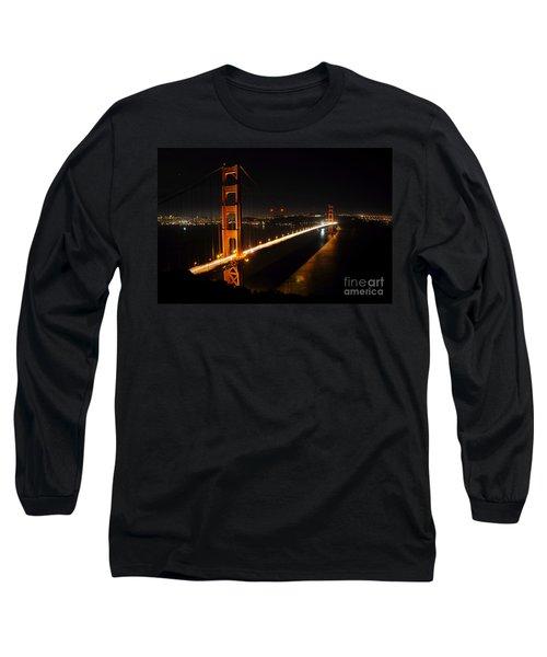 Long Sleeve T-Shirt featuring the photograph Golden Gate Bridge 2 by Vivian Christopher