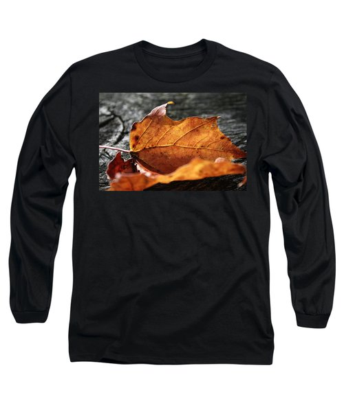 Golden Leaf Long Sleeve T-Shirt