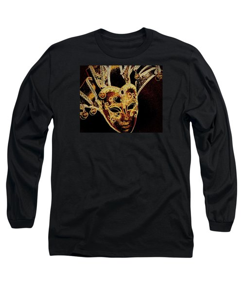 Golden Mask Long Sleeve T-Shirt