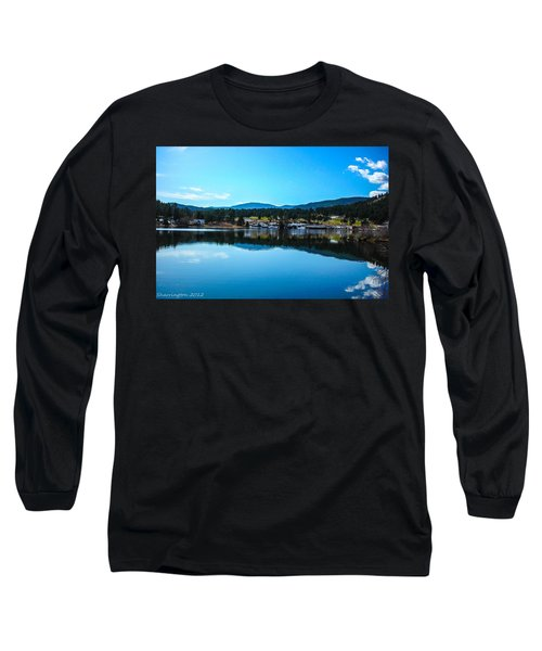 Long Sleeve T-Shirt featuring the photograph Golf Course by Shannon Harrington