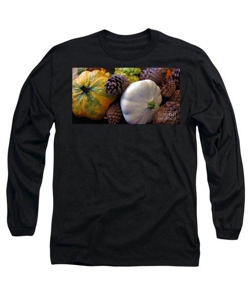 Long Sleeve T-Shirt featuring the photograph Gourds 6 by Deniece Platt