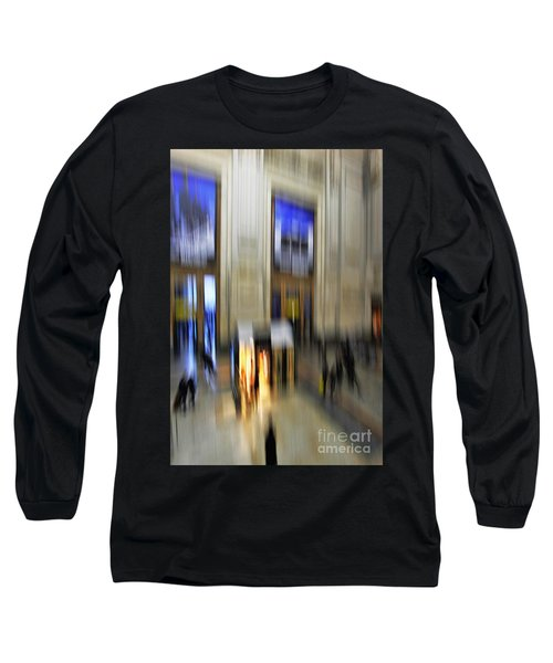 Long Sleeve T-Shirt featuring the photograph Grand Central Station Italian Style by Andy Prendy