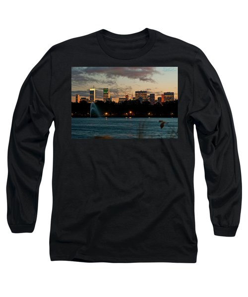 Great Pond Fountain Long Sleeve T-Shirt