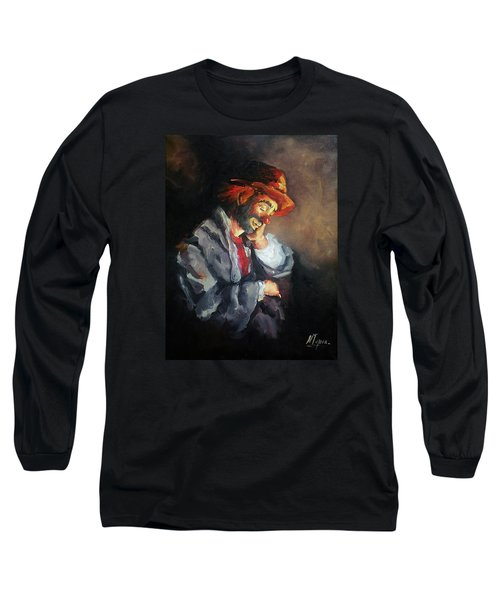 Happy While He Dreams Long Sleeve T-Shirt by Natalia Tejera