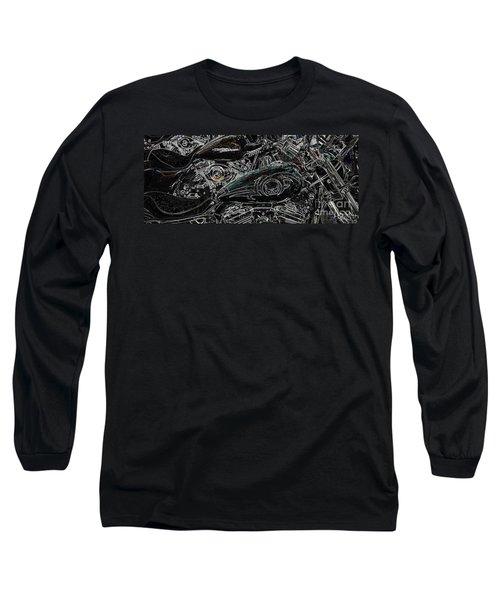 Harley Davidson Style 2 Long Sleeve T-Shirt