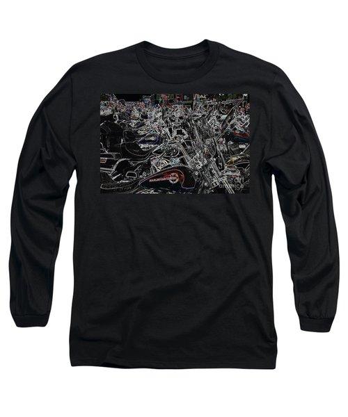 Harley Davidson Style Long Sleeve T-Shirt