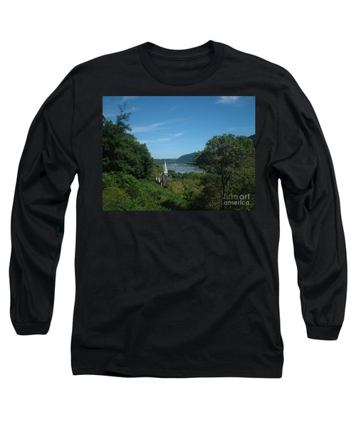 Harper's Ferry Long View Long Sleeve T-Shirt by Mark Robbins