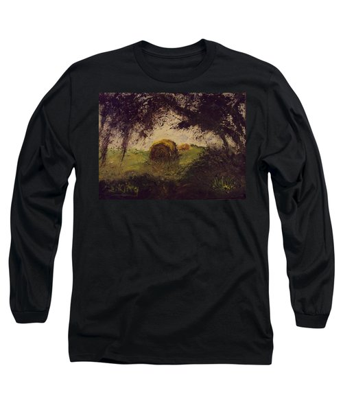 Hay Bale Long Sleeve T-Shirt